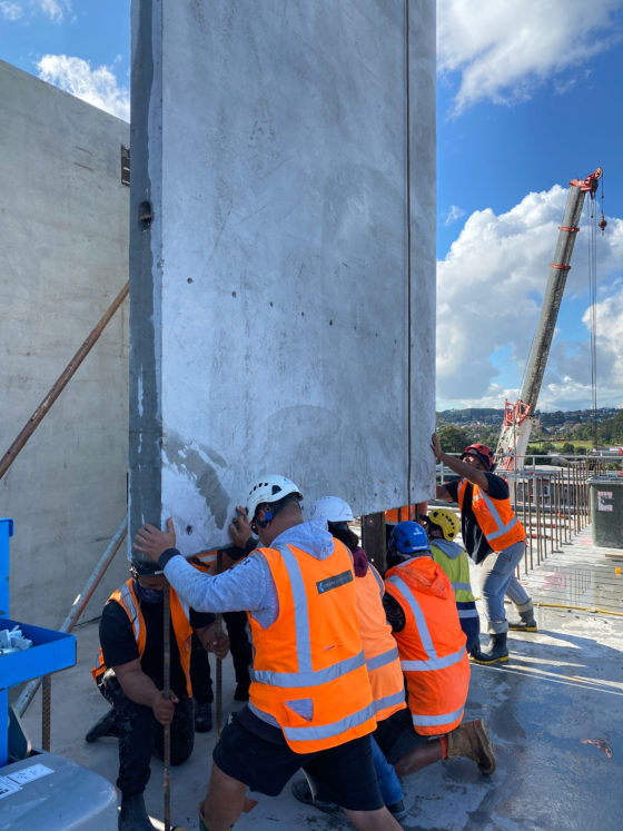 Auckland builders helping to get building project completed